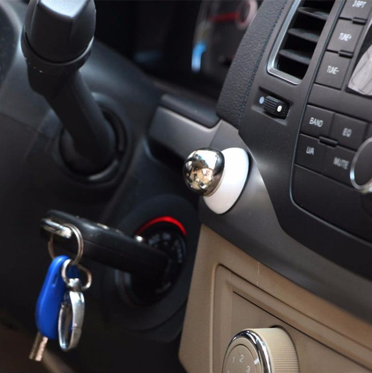 magnetický držák na mobil do auta - umístění v autě