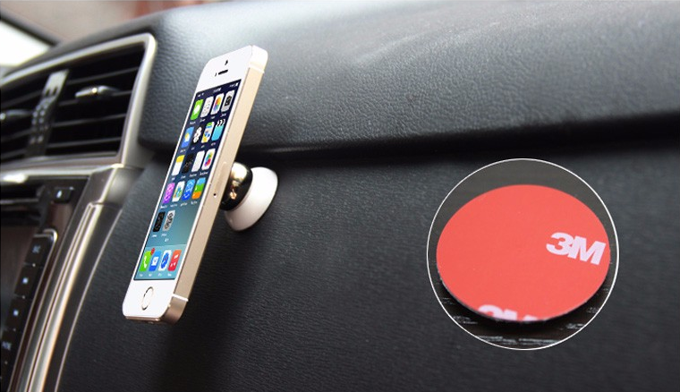 magnetický držák na mobil v autě