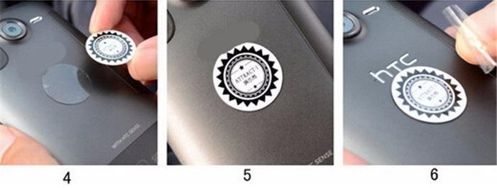 magnetický držák na mobil do auta - montáž na telefon - 2