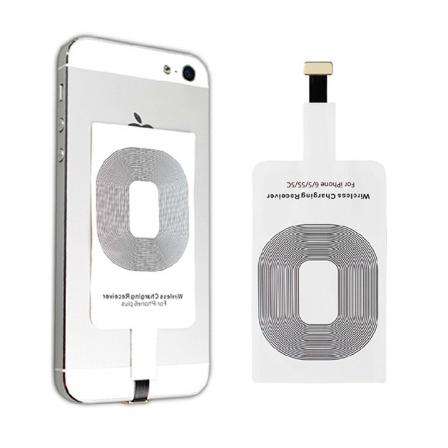 Receiver pro bezdrátové nabíjení mobilního telefonu Typ: Varianta pro iPhone