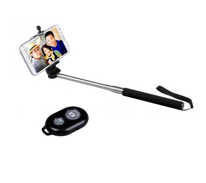 Selfie tyč s bluetooth dálkovým ovládáním